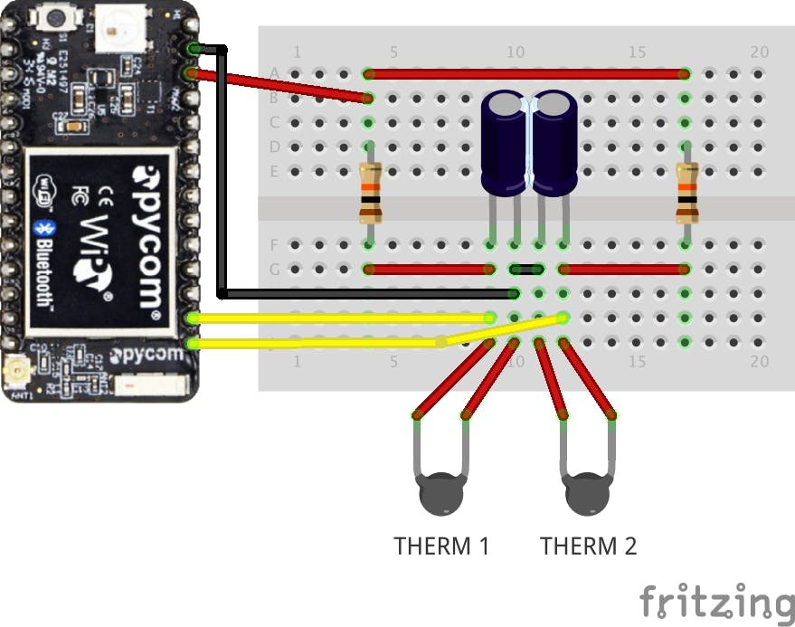 Turkey Temp Tracker Wiring Diagram