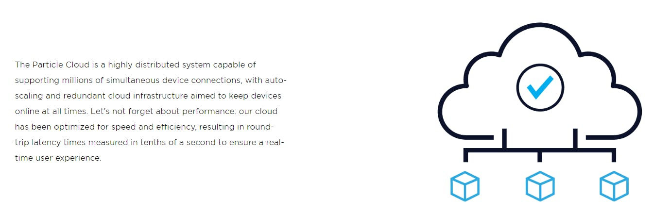Particle Cloud Service