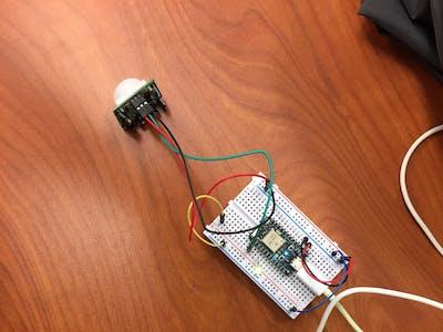 Smart Door Motion Sensor