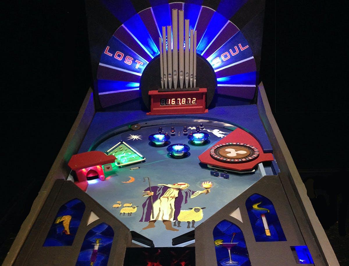 Build a Pinball Machine