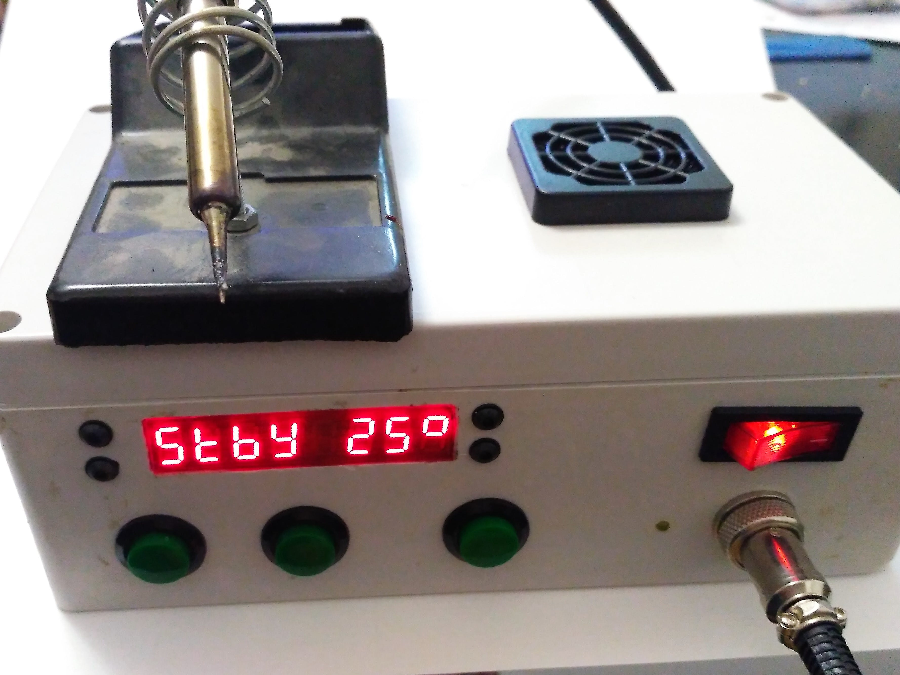 Simple Arduino Soldering Station