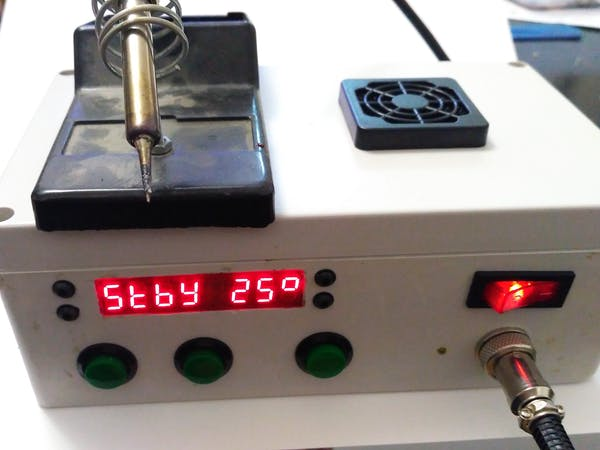 Simple Arduino Soldering Station Arduino Project Hub