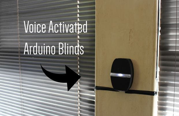 Voice Activated Arduino Blinds Hackster Io
