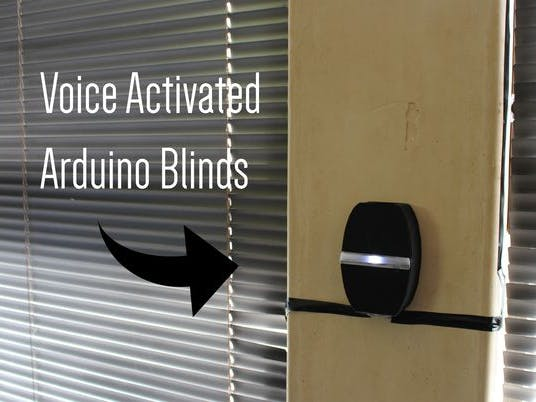 Voice Activated Arduino Blinds - Hackster io