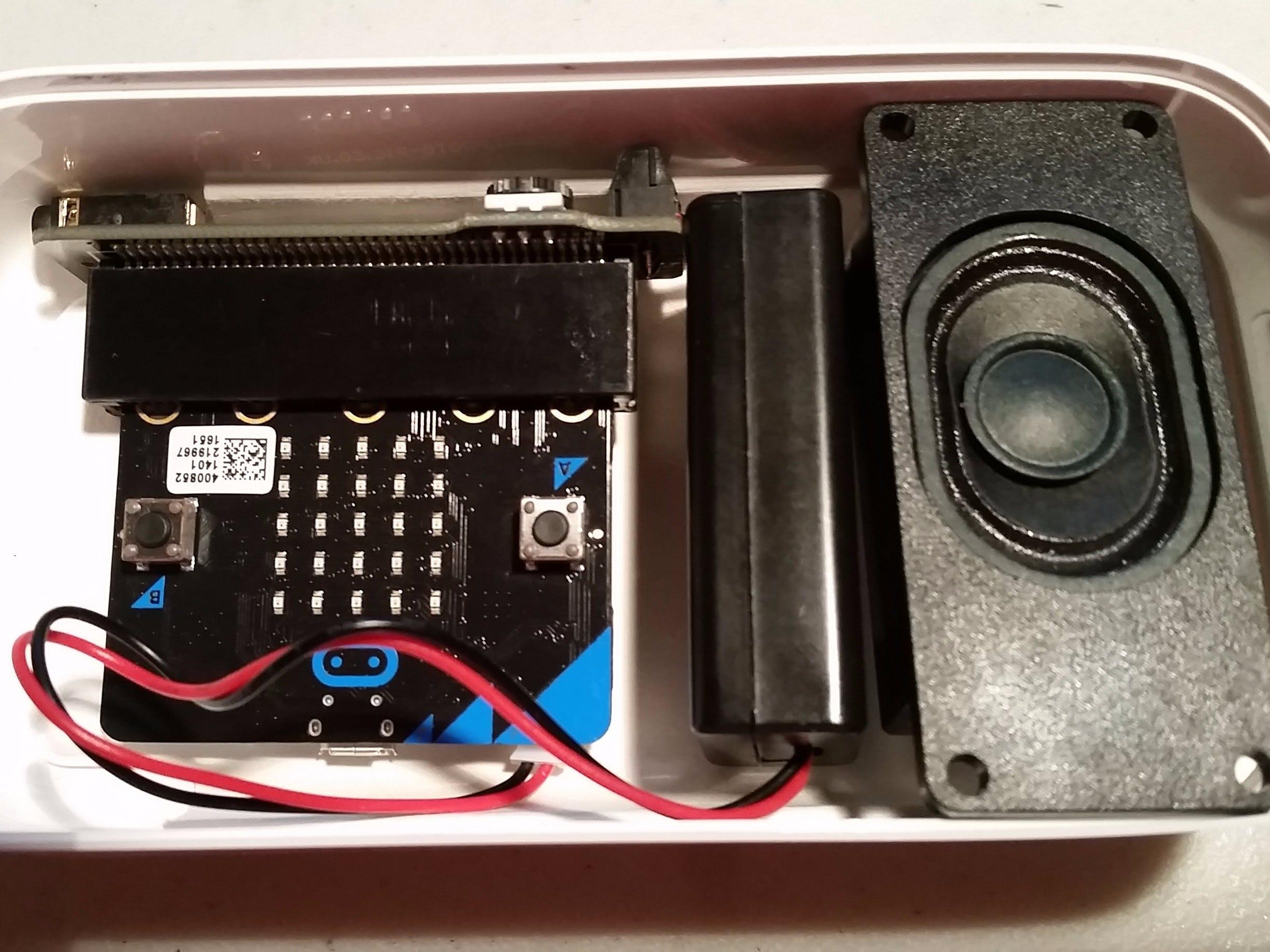 Micro:bit Talking Compass
