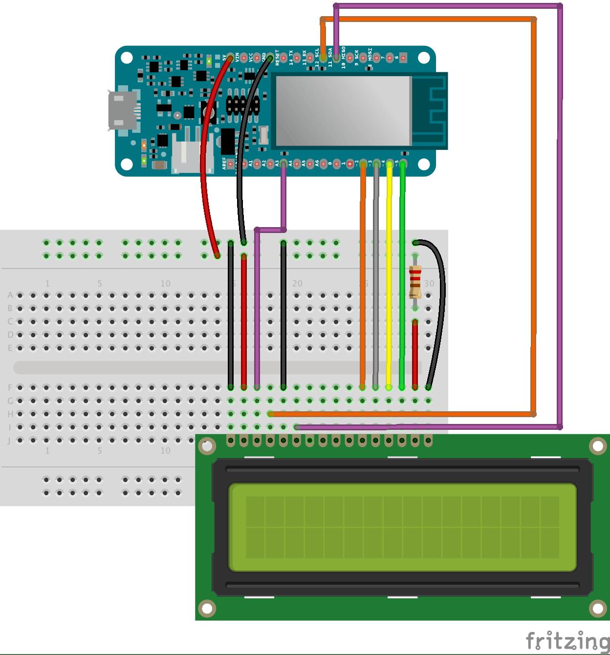 LCD Screen wiring