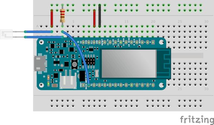 Phototransistor wiring