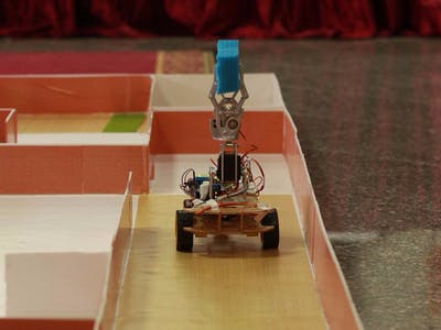 Bluetooth Controlled Pick And Place Robot