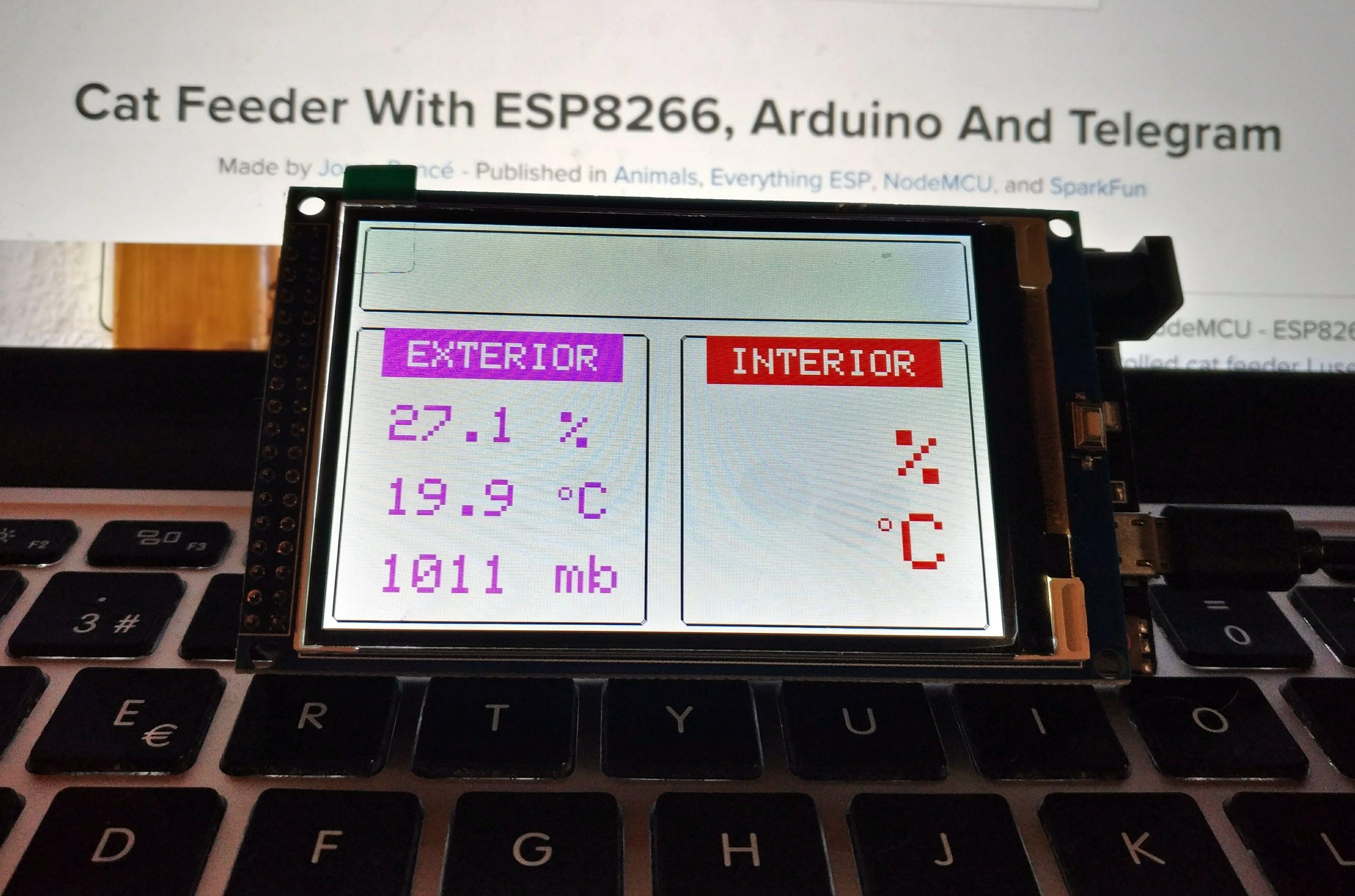 """3.2"""" TFT LCD + Arduino Mega 2560"""