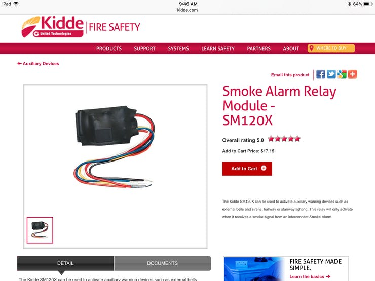 Kidde Smoke Module