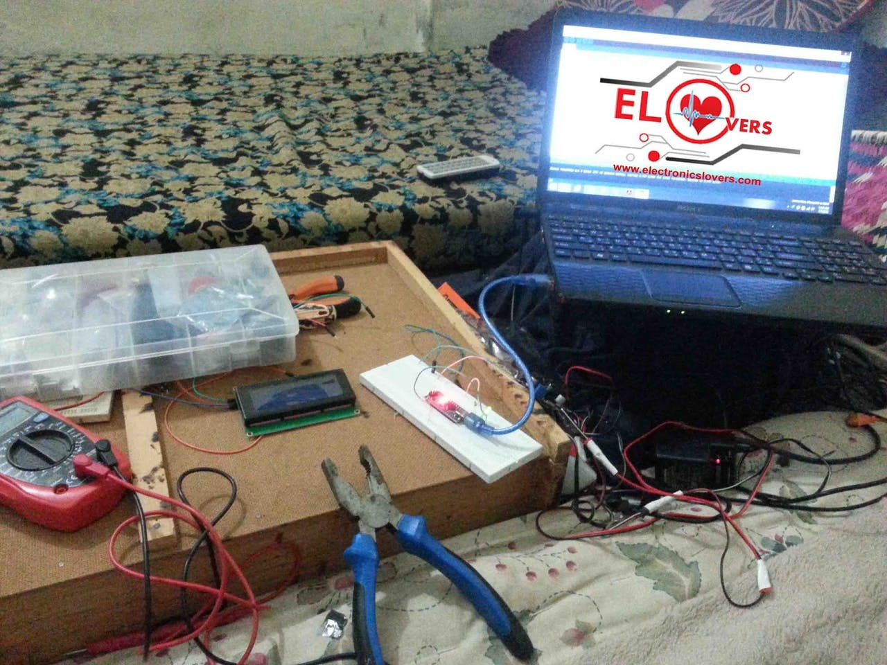 Home Made Arduino Based Mppt Charge Controller Pwm Solar Circuit