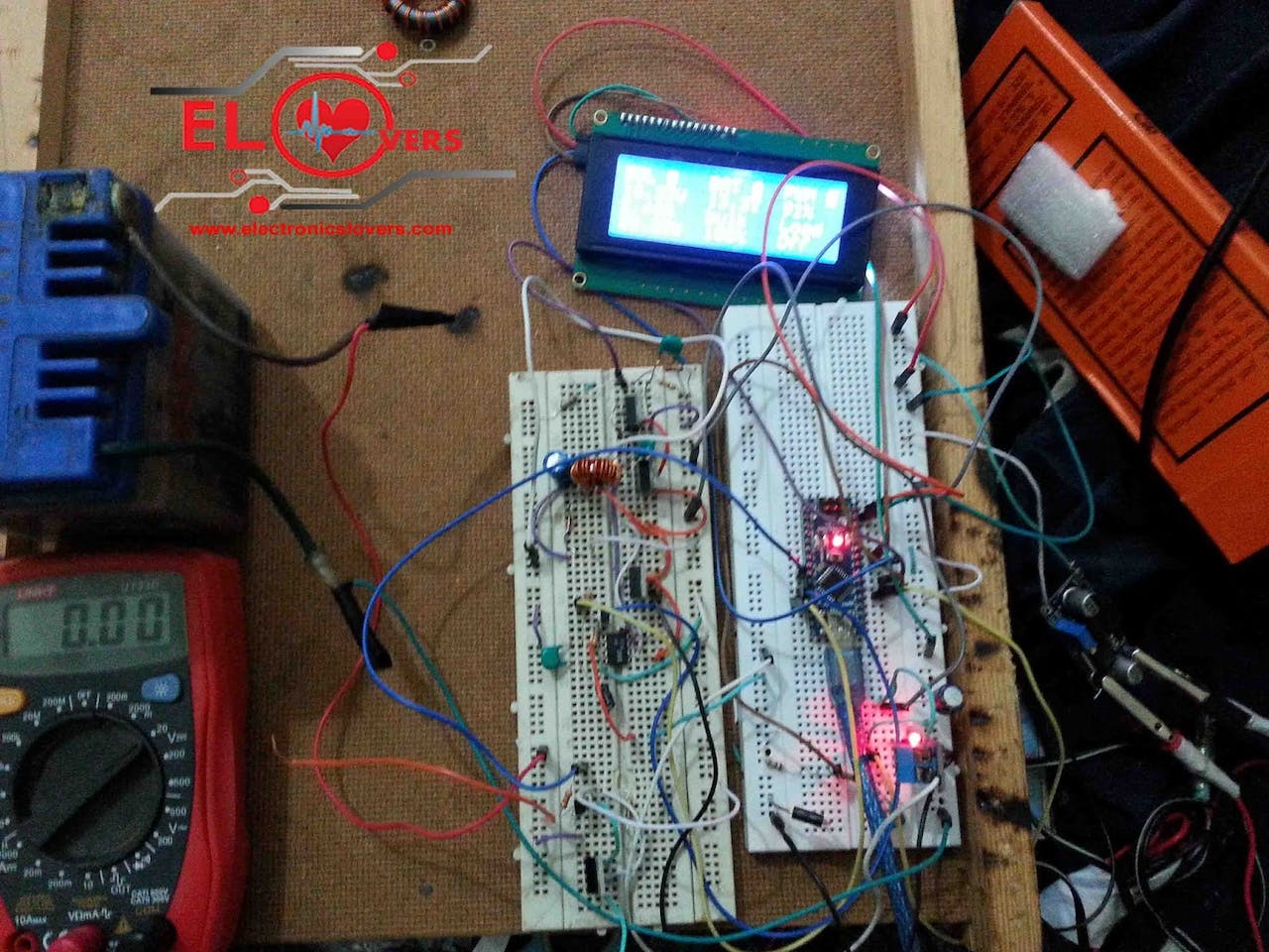 Home Made Arduino Based Mppt Charge Controller Solar Circuit Diagram Using Microcontroller Working