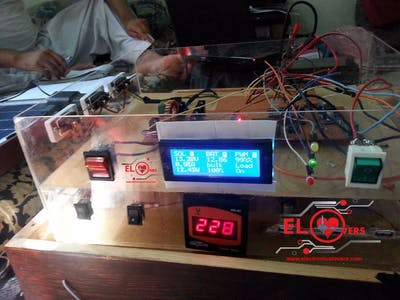 Home Made Arduino Based MPPT Charge Controller