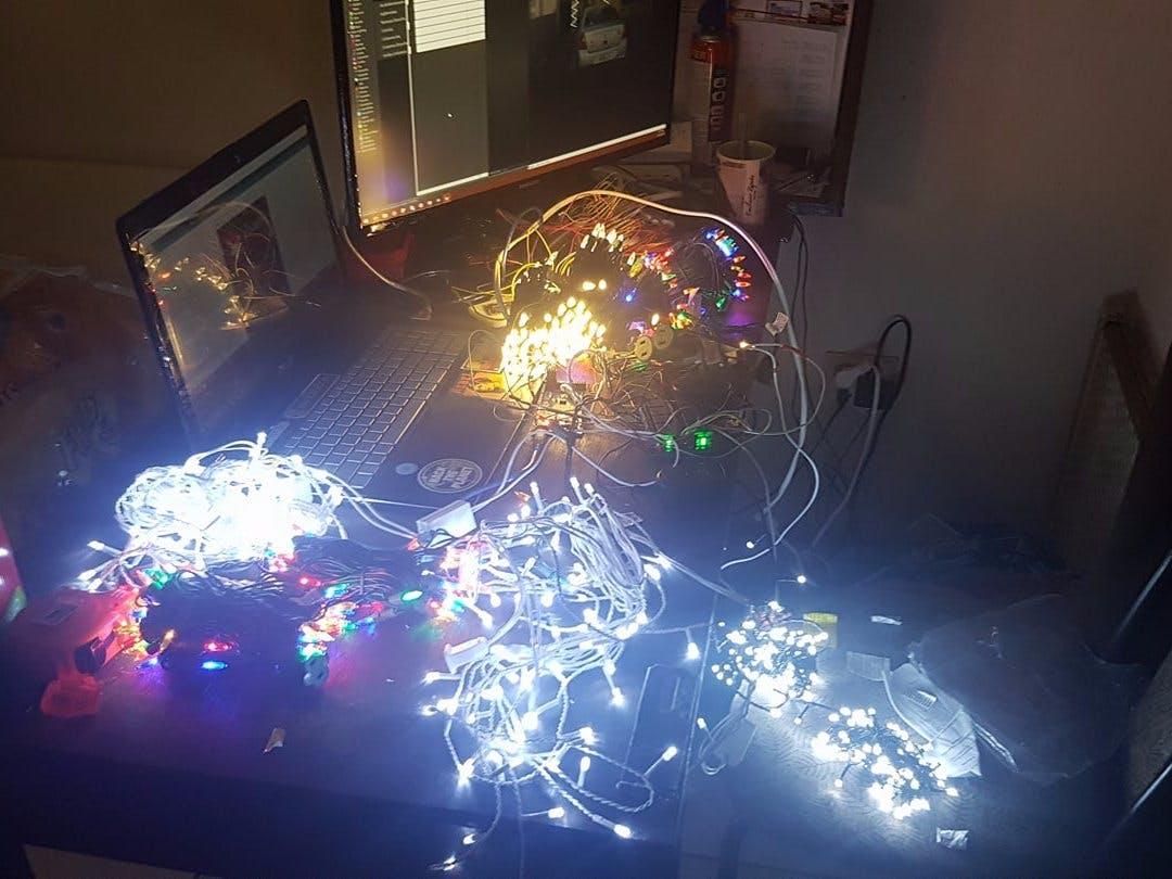 Automatización de Luces Navideñas