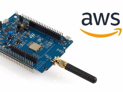 Connecting STM32 LoRa Discovery Kit to AWS IoT