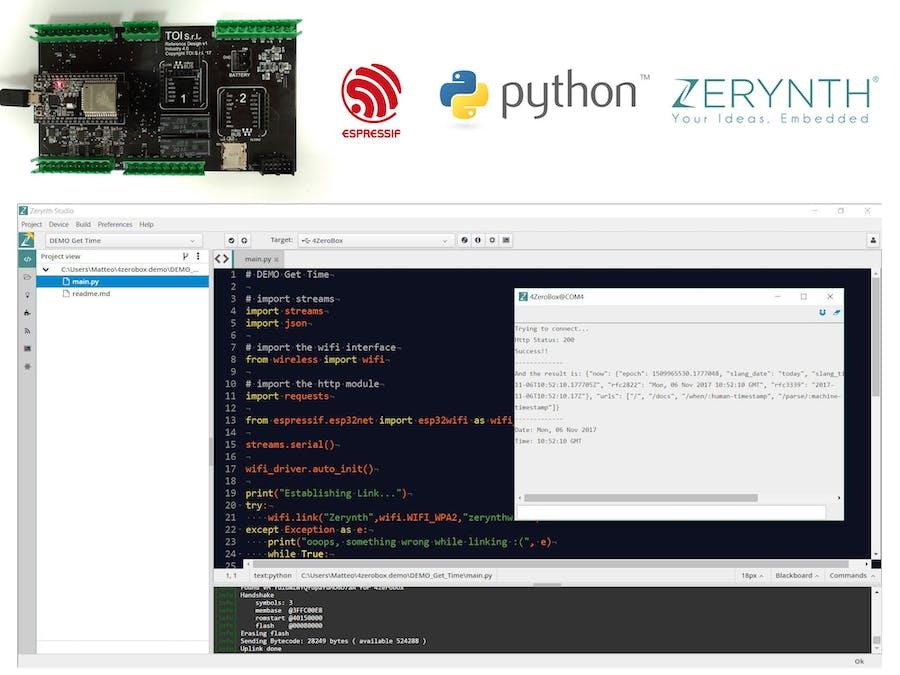 Python On ESP32: WiFi Test - Hackster io