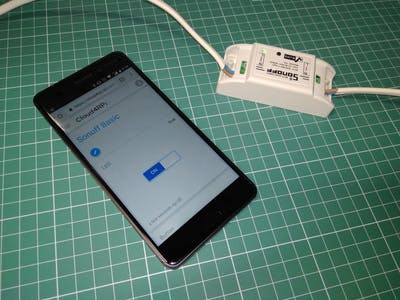 How To Control Sonoff Basic Smart Switch with Smartphone