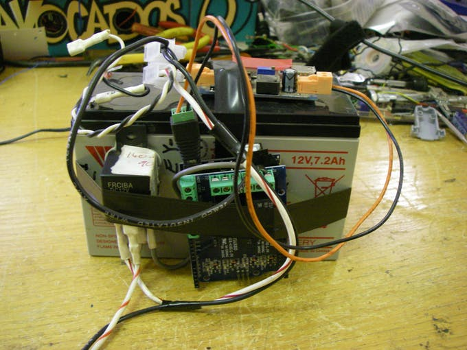 Controller for chemical dosing pump hackster