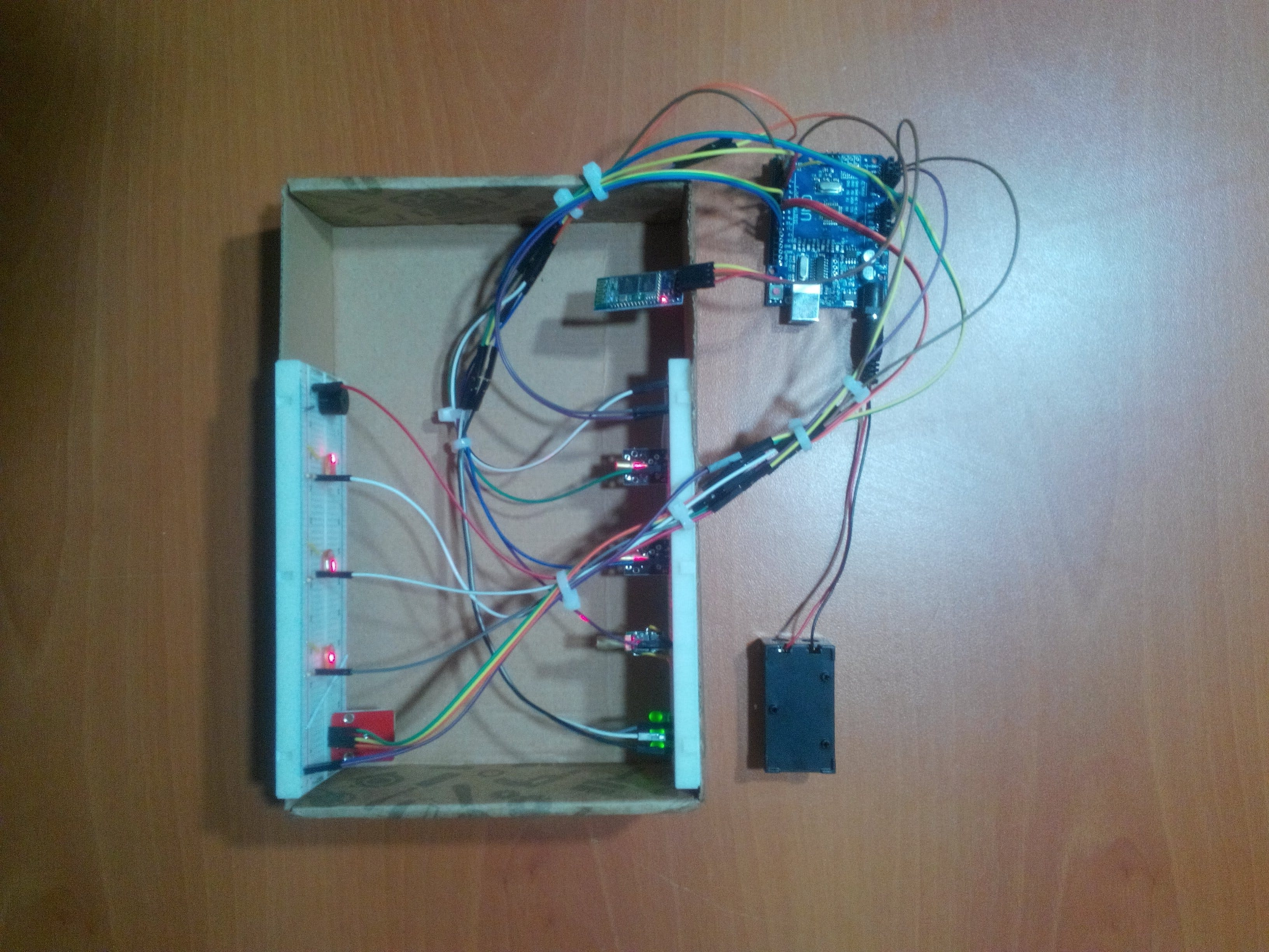 Create a People Counter Controlled by an Android App