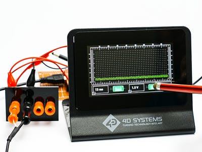 Single Trace Oscilloscope