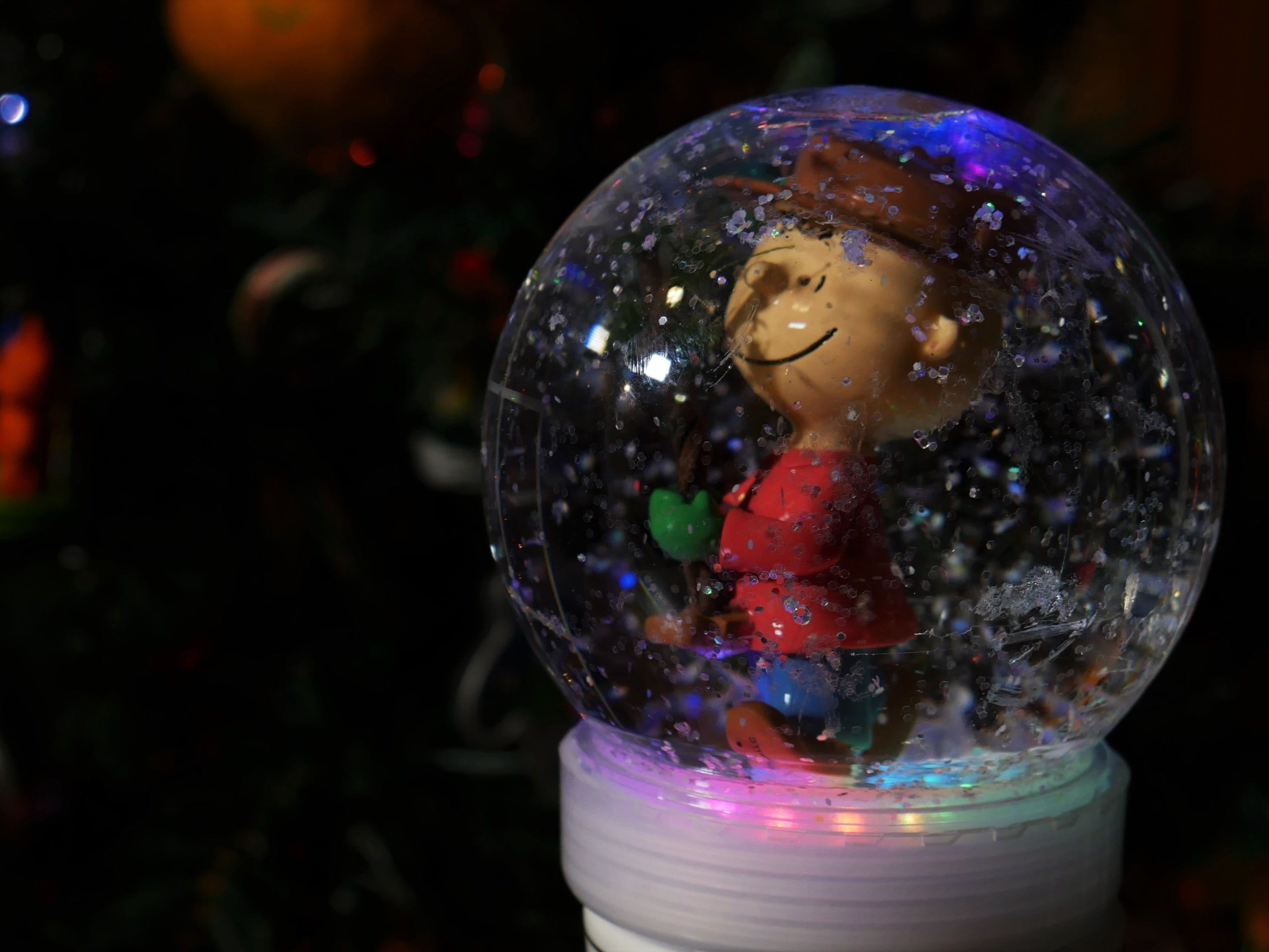 Light-Up & Musical Snow Globe