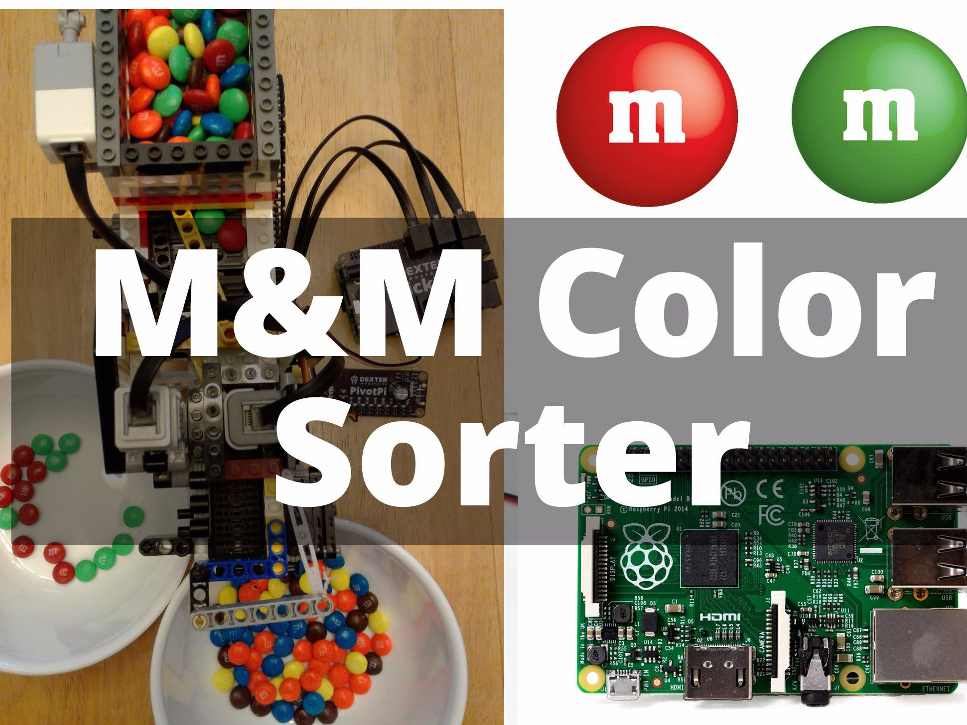 Raspberry Pi M&M Sorter