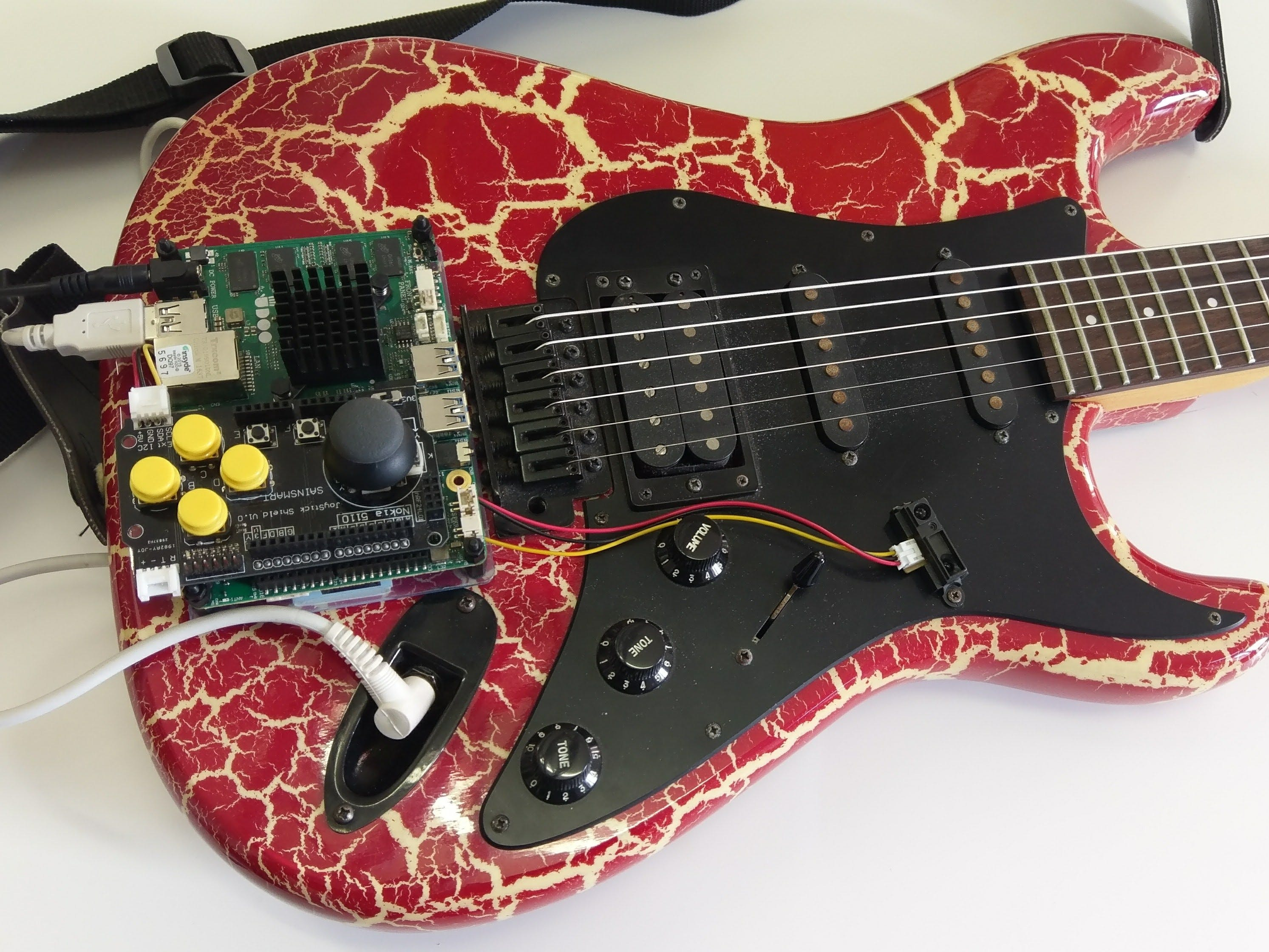 UDOO X86 Powered Enhanced Guitar