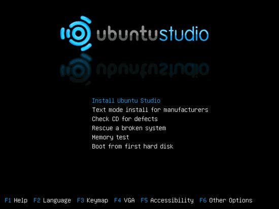 Install Ubuntu Studio
