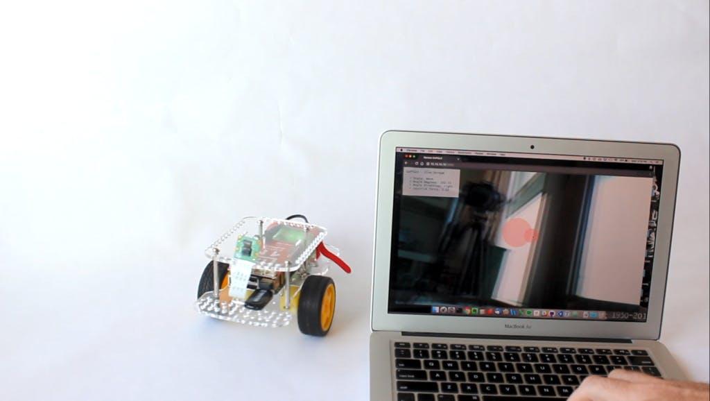 video streaming robot