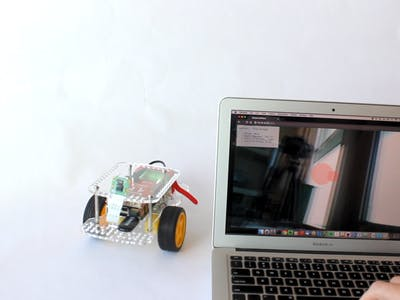 Browser Streaming Robot with the GoPiGo3