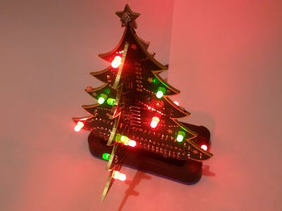 Raspberry Pi LED Christmas Tree