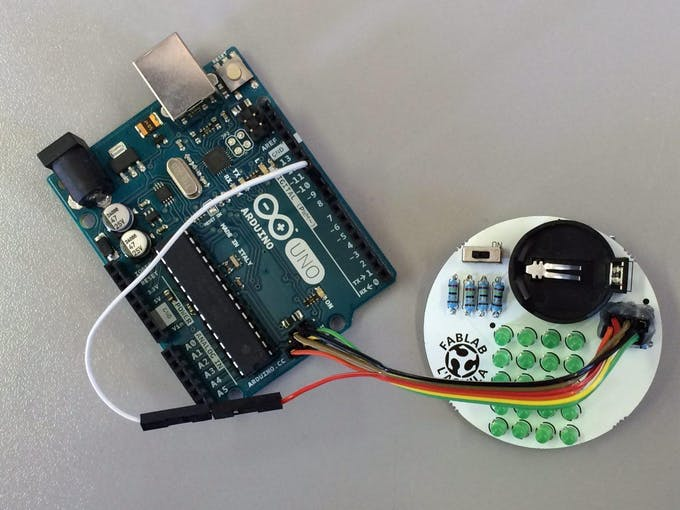 Connecting the Arduino as ISP