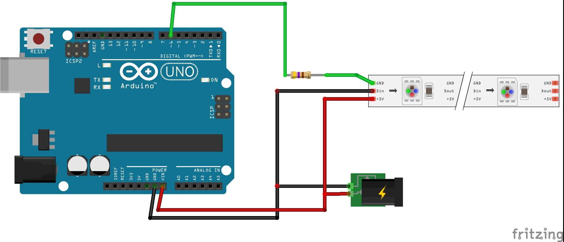 How to Configure NeoPixels Using Vixen Lights and Arduino - Hackster.io