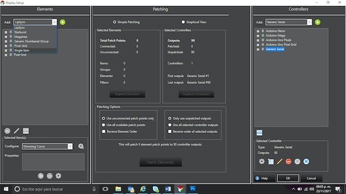 How to configure neopixels using vixen lights and arduino