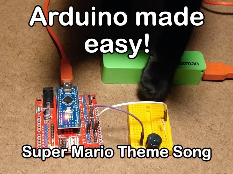 Super Mario Theme Song w/ Piezo Buzzer And Arduino!