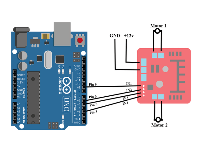 how to make a simple arduino robot