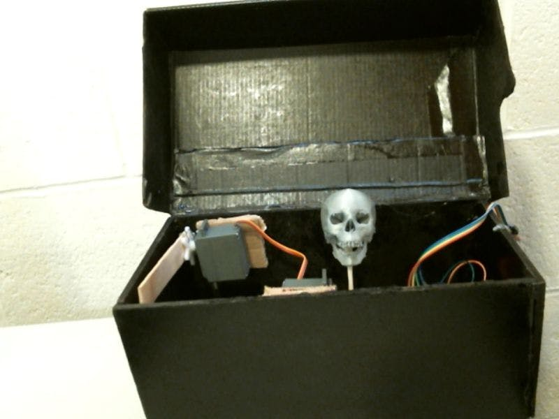 Scarry box xD