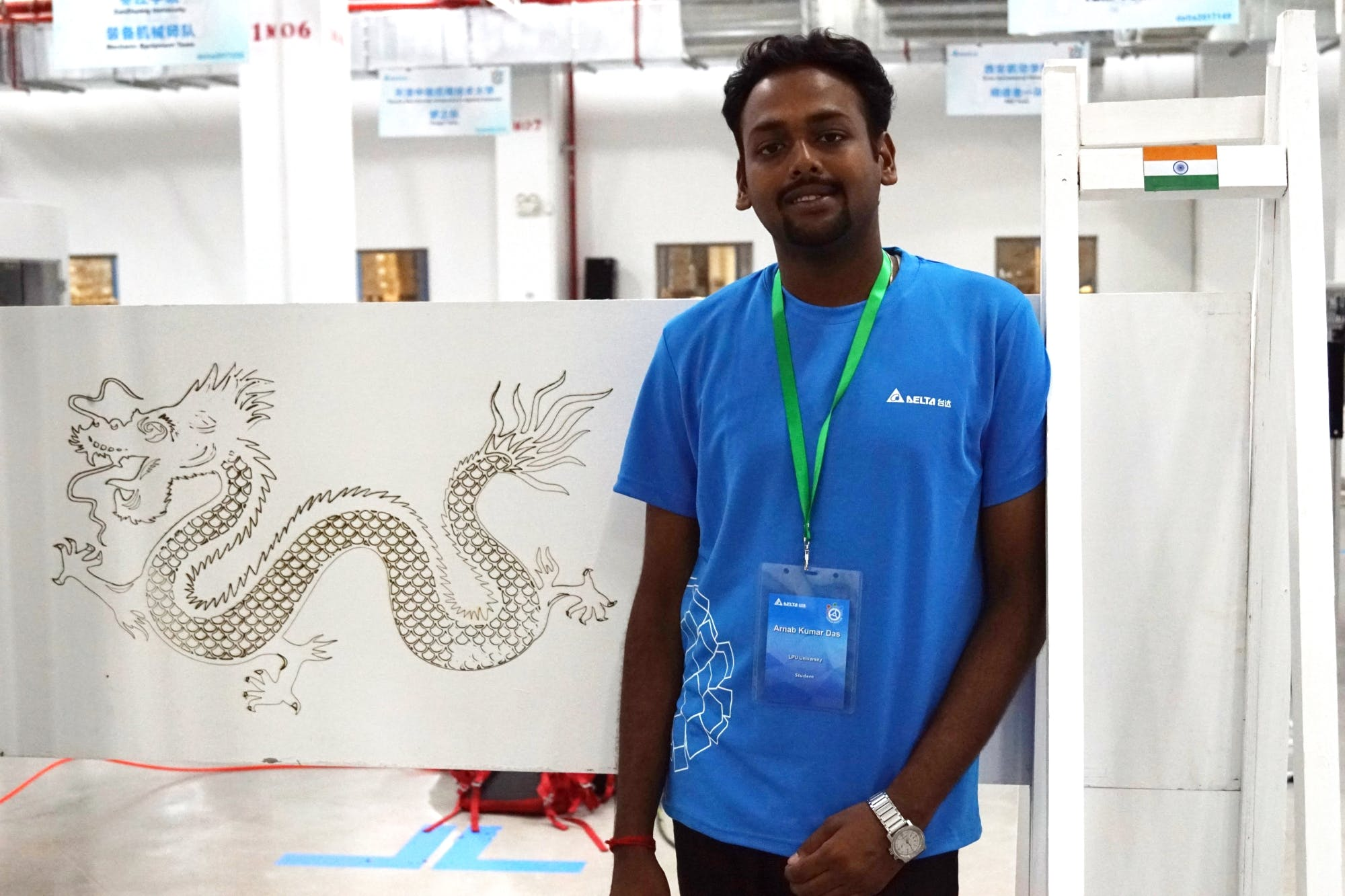 Me with the Laser Engraved Dragon