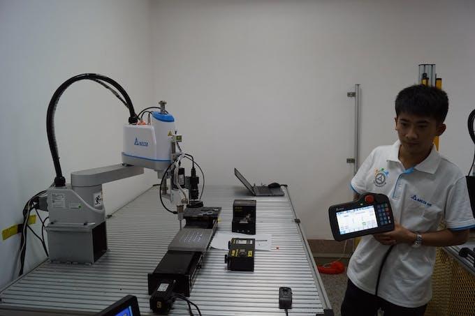 Delta SCARA Robot Demonstration