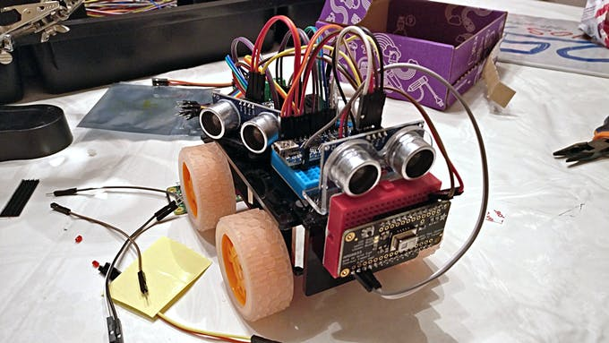 Arduino Obstacle Avoidance Robot with Ultrasonic HC-SR04