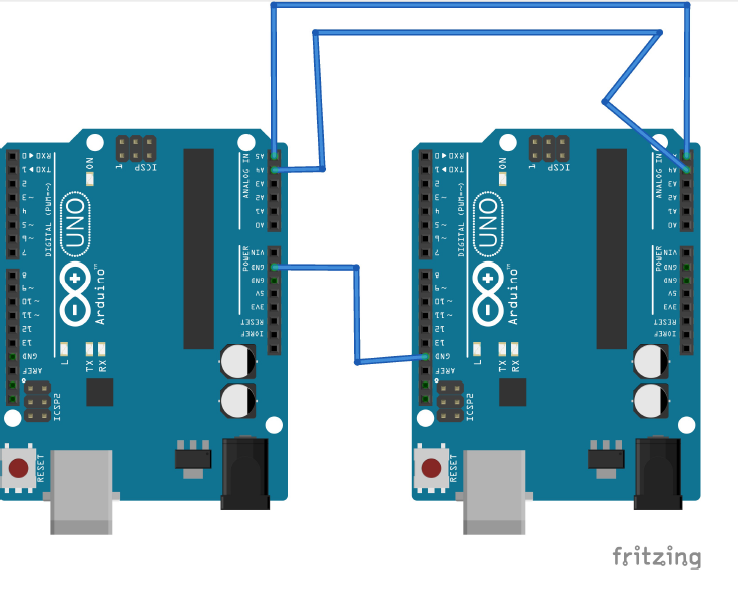 Master Slave I2C Connection - Hackster io