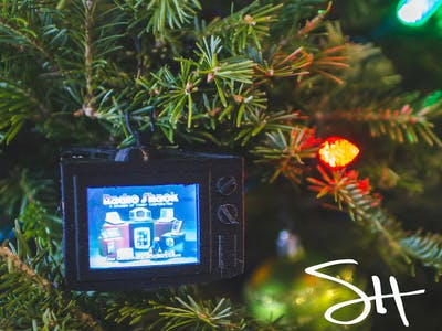 YouTube Christmas Ornament