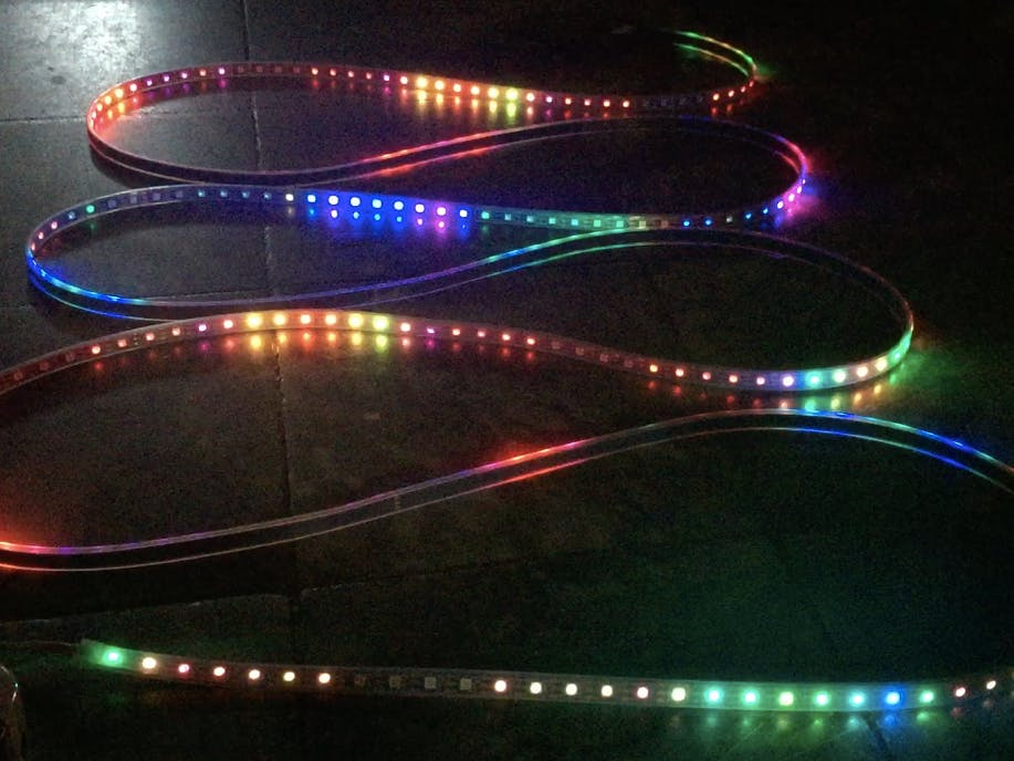 Music Reactive LED Strip