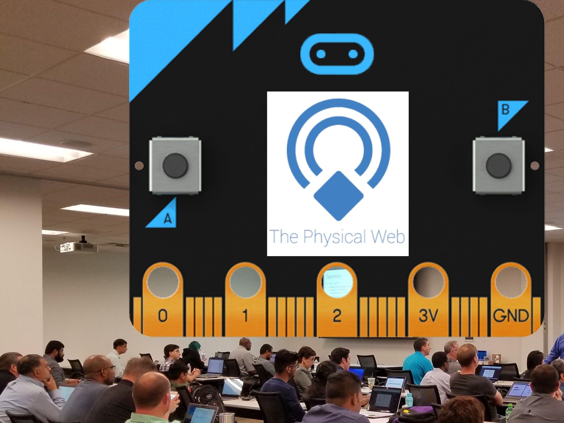 Sharing Presentation Slides: Physical Web using Micro:bit