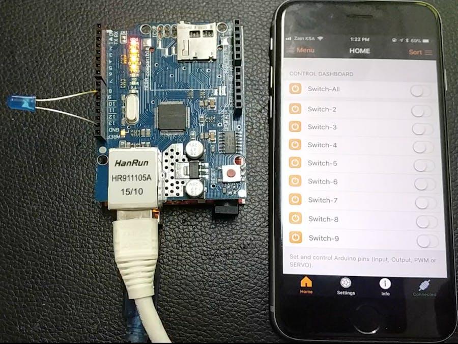 Arduino Ethernet Controller - Hackster io
