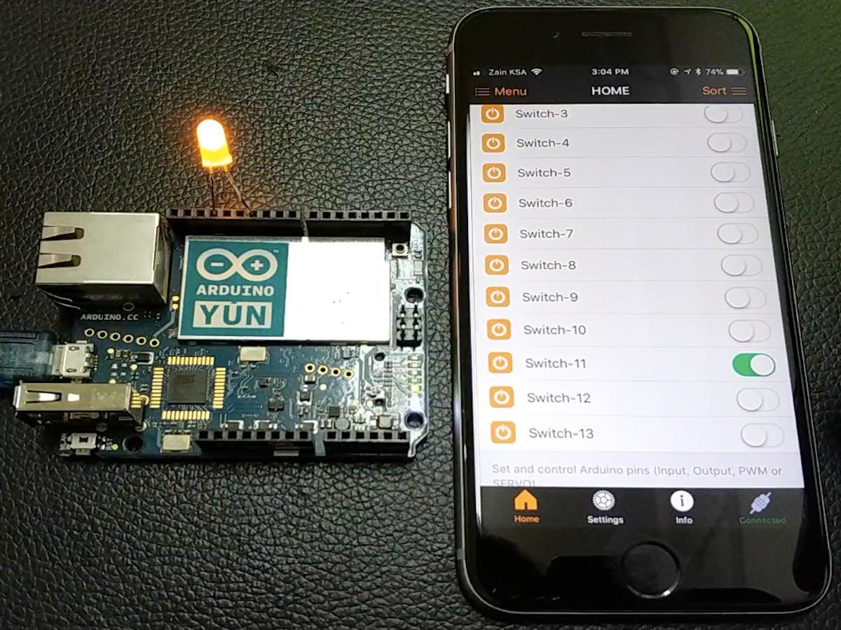 Arduino Yun Controller