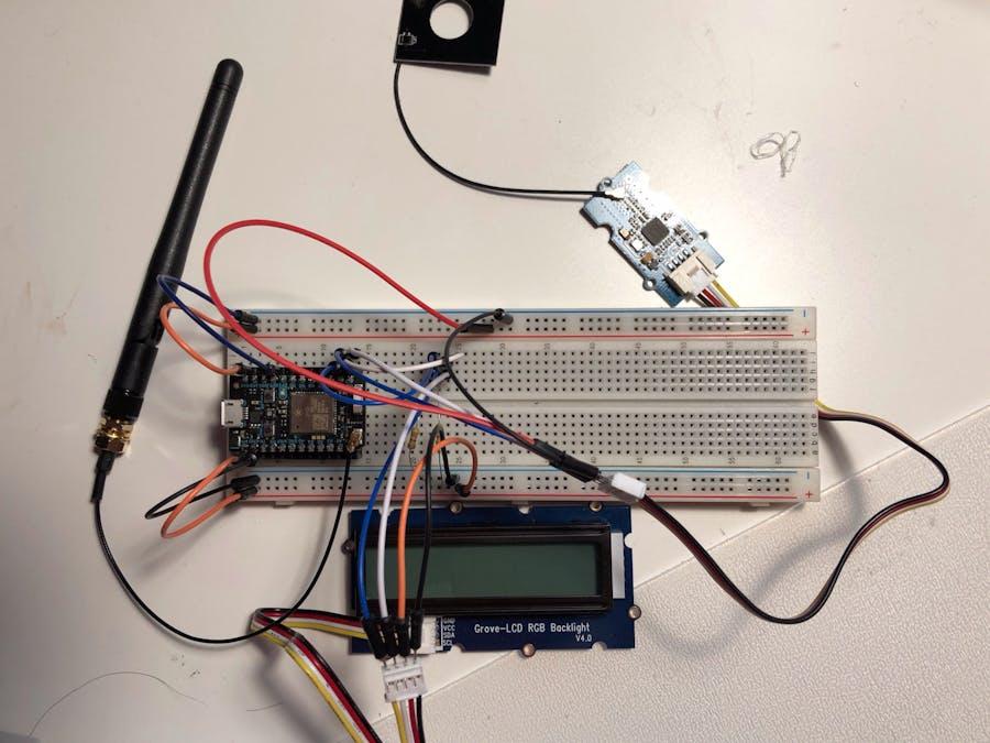 Particle Photon + Grove NFC + Grove LCD via I2C - Hackster io