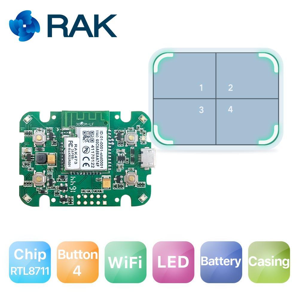 RAK Dash button