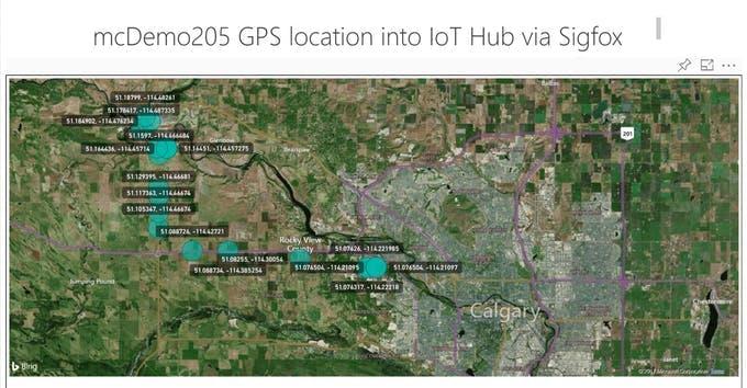Plotting GPS coordinates into Power BI map tool