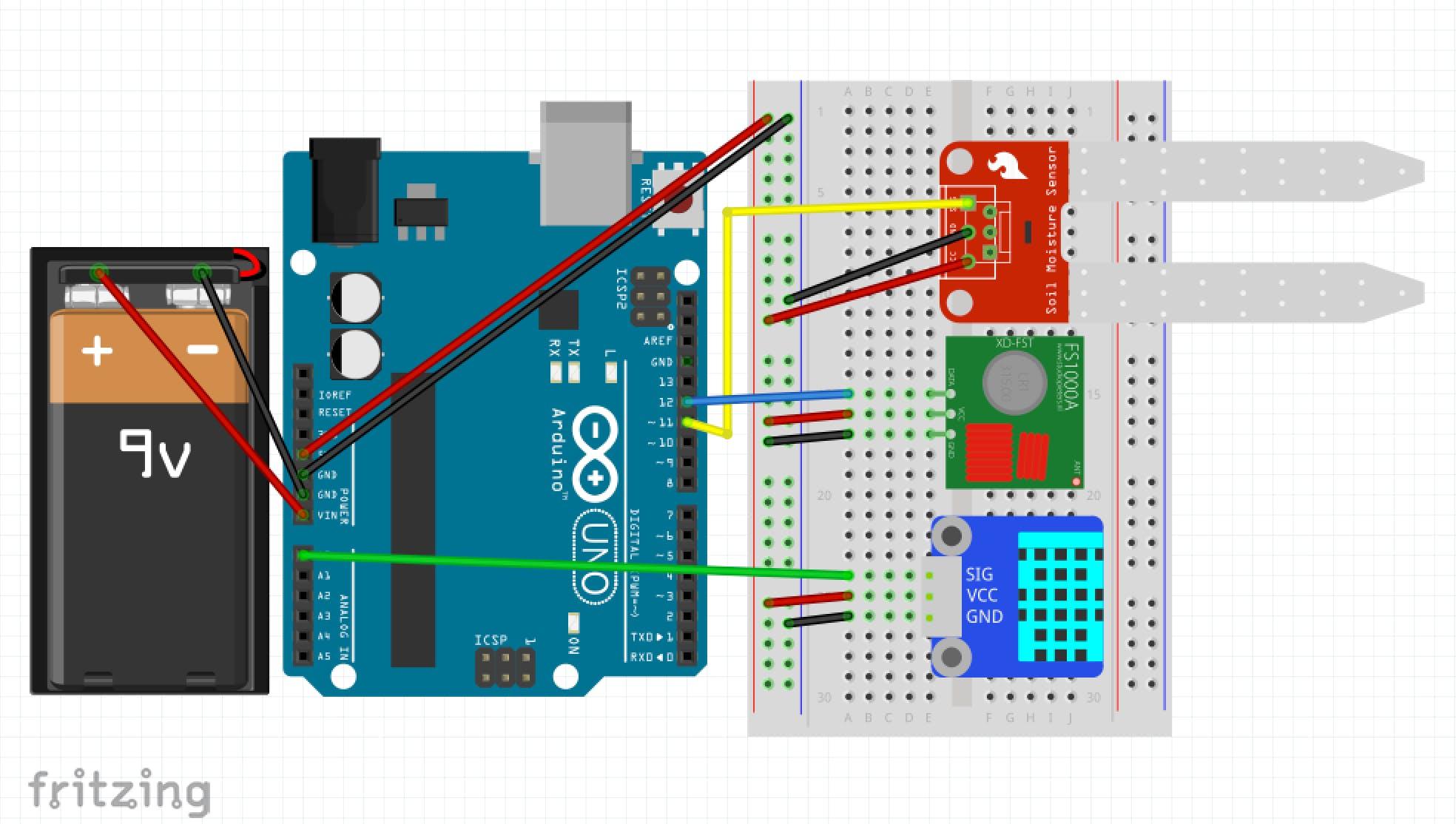 transmitter Schematics